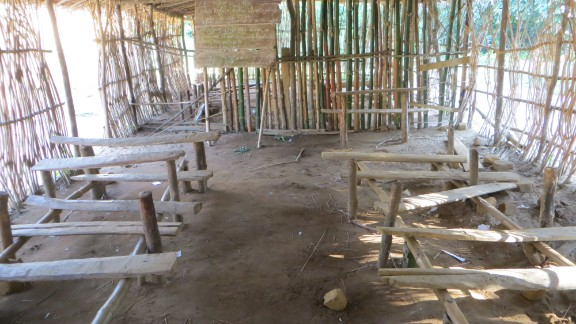 The primary school that previously existed in the area was in poor condition.