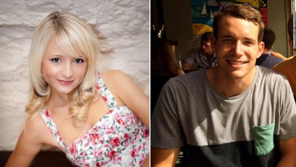 British tourists Hannah Witheridge and David Miller were found dead Monday, September 15, on a beach in Koh Tao, a popular resort island in Thailand. Thai police are investigating their deaths as murder and searching for suspects.