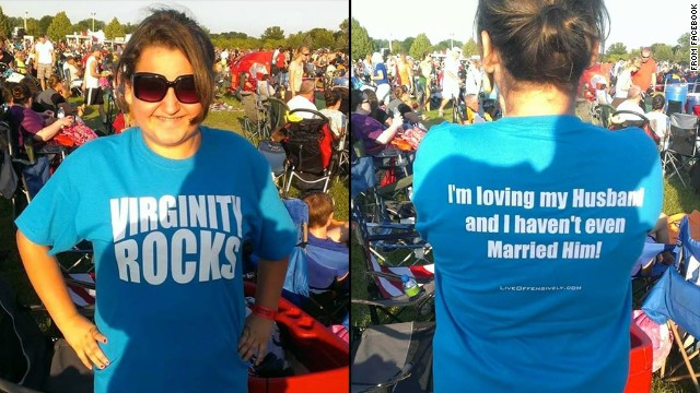 'Virginity Rocks' t-shirt controversy