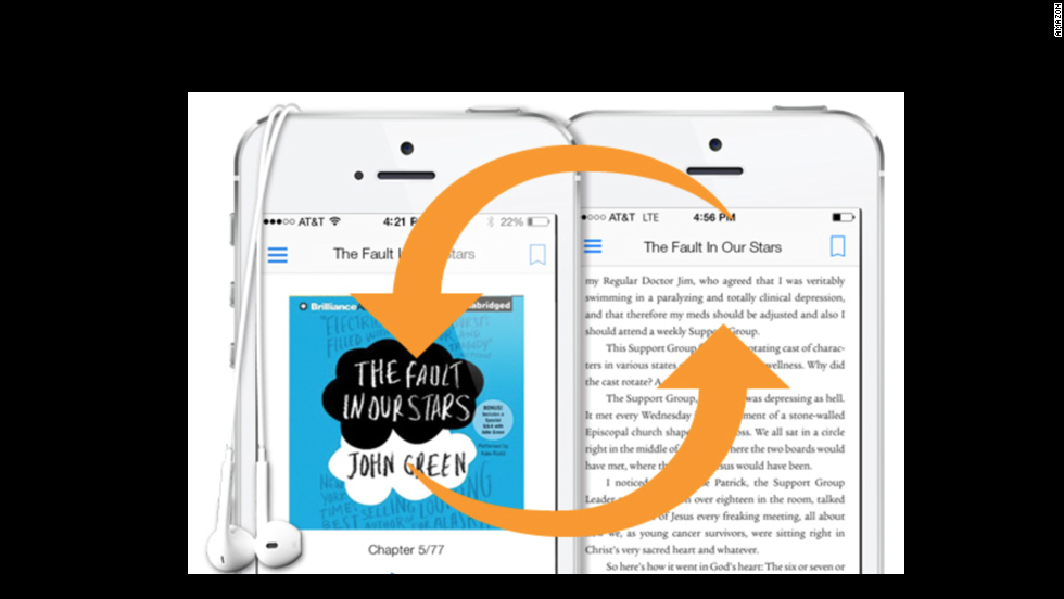 OK, odds are you've already got the Kindle app for your phone and tablet book-reading. But Amazon has jumped on the iOS 8 bandwagon quickly with a list of new features. The Kindle Today widget lets you keep up to three books front-and-center for easy reading. They also added the ability to copy and paste text from books you're reading and a quick translation app.