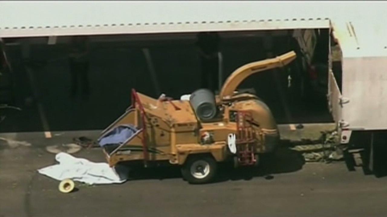 Man dies after falling in wood chipper - CNN Video