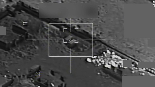 French airstrikes hit ISIS warehouse
