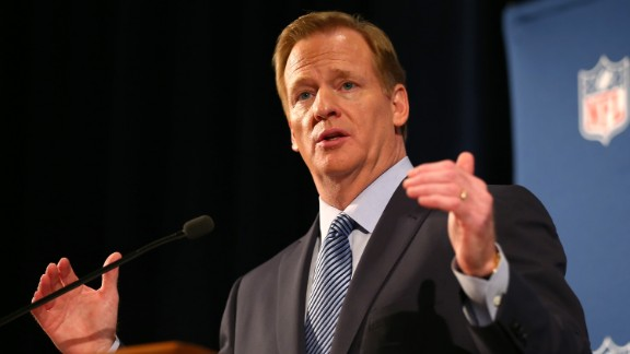 "NFL Commissioner Roger Goodell calls the league's new policy ""significantly more robust, thorough and formal."""
