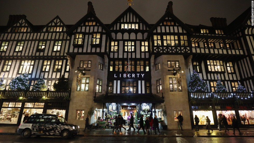 Liberty department store in London also returned into the top 20 after missing out last year.