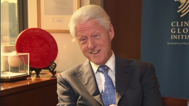 GPS: Clinton on becoming a grandfather