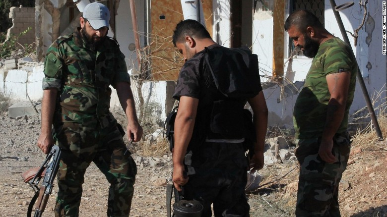 Syrian government retakes key province from rebels