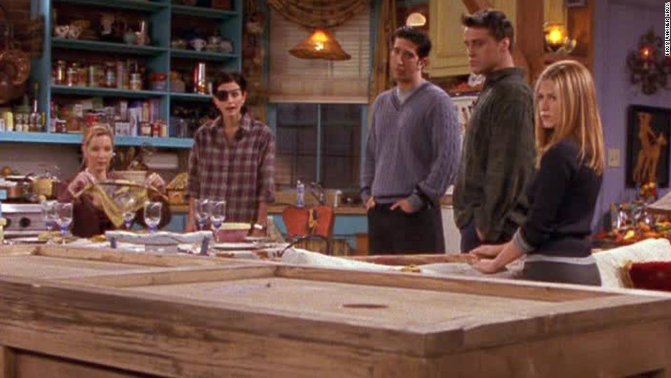 "<strong>""The One with Chandler in a Box:""</strong> The Thanksgiving episode in season 4 was another winner thanks to a Joey-Chandler spat. To repair their friendship, Joey sentences Chandler to six hours in a box. The sight gag was excellent, but Chandler cracking wise from inside the box brought the episode to a timeless level of funny. And it gave us <a href=""https://www.youtube.com/watch?v=RU5k3OcRDSo"" target=""_blank"">Monica's awesome defense</a> for being interested in the son of an old flame."