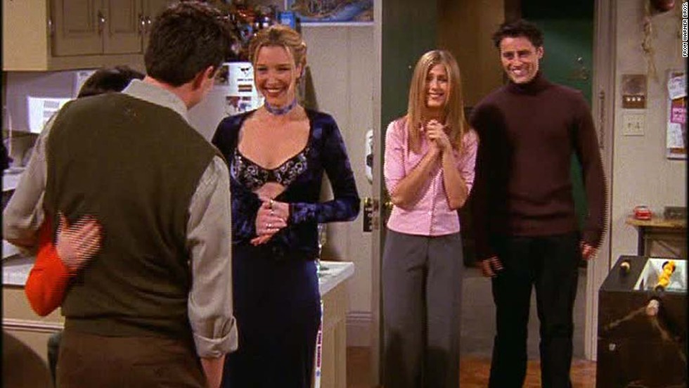 "<strong>""The One Where Everybody Finds Out:"" </strong>A running gag in season 5 was the secret relationship between Monica and Chandler. One person was let in on it at a time, and in this episode the cat was let fully out of the bag with hilarious consequences. In the words of Phoebe, <a href=""https://www.youtube.com/watch?v=LUN2YN0bOi8"" target=""_blank"">""they don't know that we know that they know we know.""</a>"