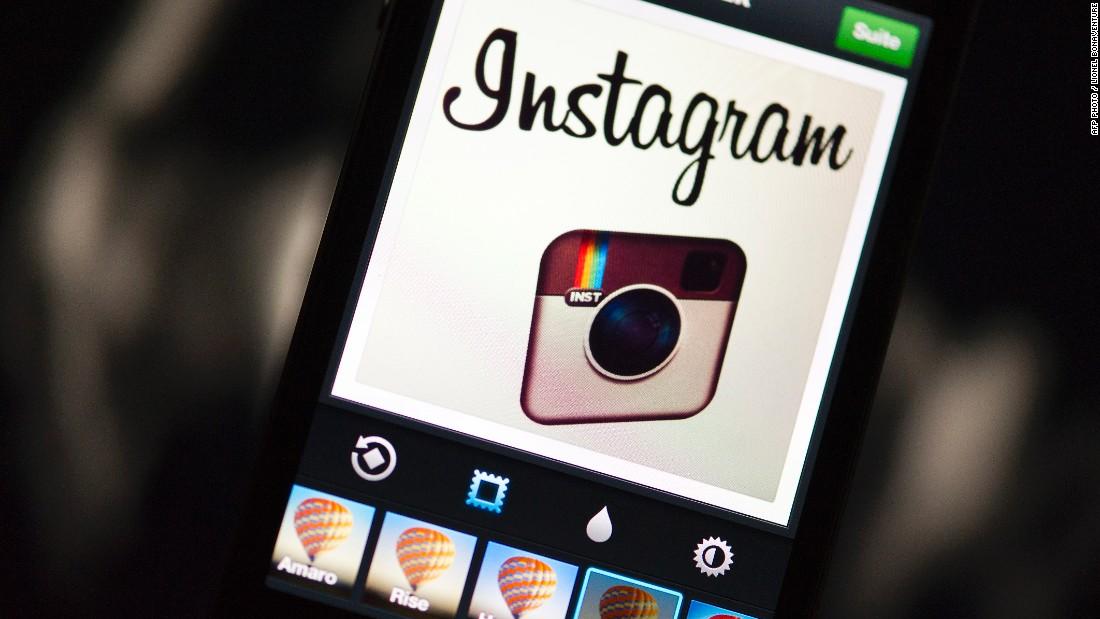 The Instagram logo in 2012.