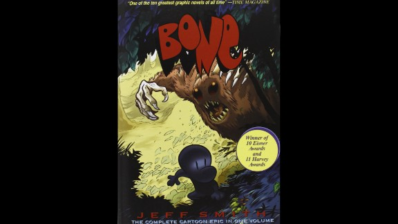 "Political viewpoints, racism and violence were the top reasons cited in challenges to Jeff Smith's ""Bone"" comics. The award-winning series made its debut on the ALA's list of top 10 most frequently challenged books in 2013."