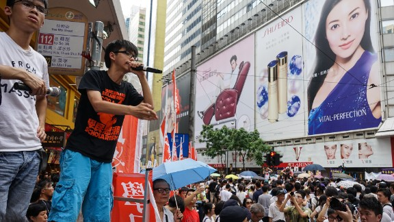 Now, Wong aims to ignite a wave of civil disobedience among Hong Kong