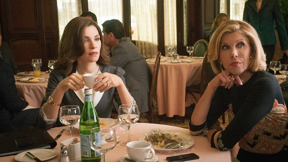 """""""The Good Wife,"""" a legal drama starring Juliana Margulies, was also taken offline, as were """"NCIS"""" and """"The Practice."""" No reason was given."""