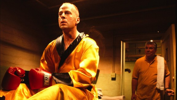 Bruce Willis plays boxer Butch Coolidge, who runs afoul of Marsellus Wallace and will do anything to get his watch back.