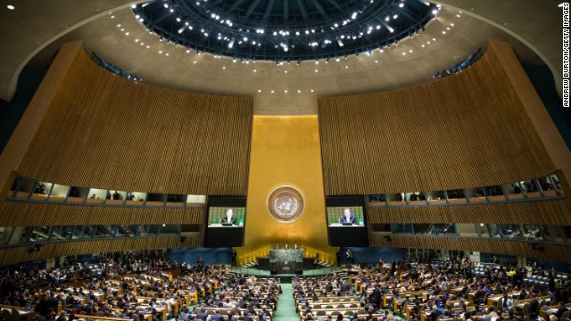 U.N. tackles climate change