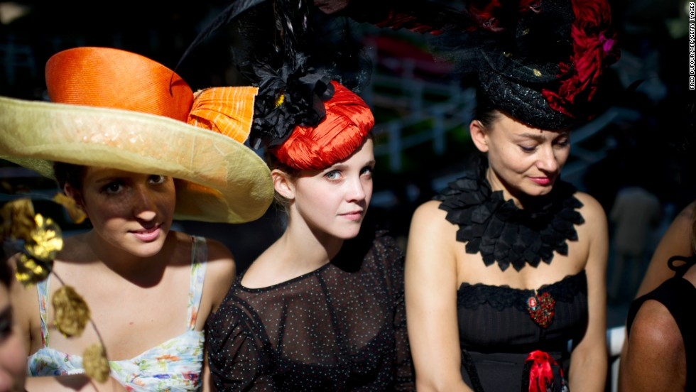 For many who attend the prestigious annual horse race at Longchamp, haute couture is more important than the action that takes place on the track.