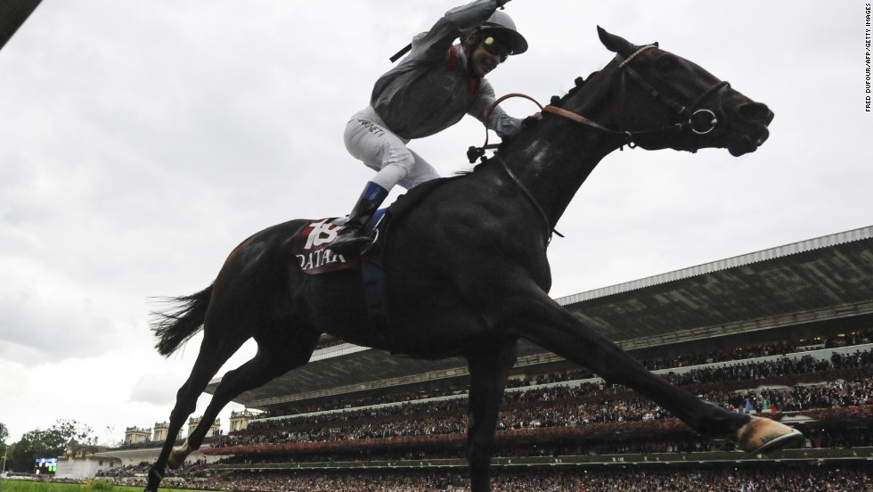 Treve won the race for the home crowd last year and will defend her title this year despite some indifferent form.