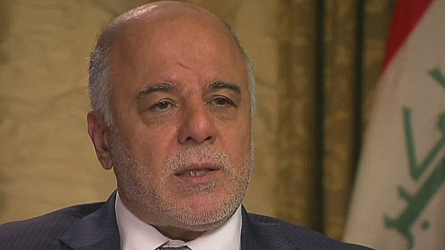 Iraqi leader: 'We need concrete support'