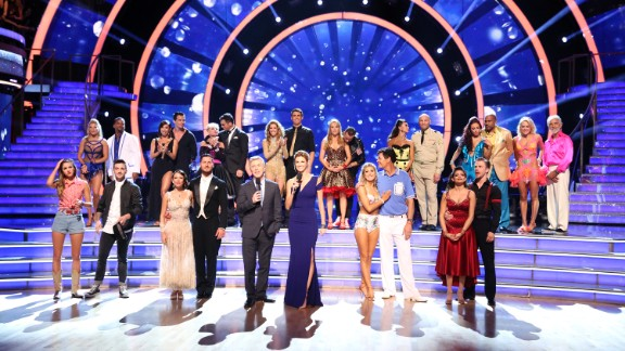"""On Monday, October 6, """"Dancing with the Stars"""" trimmed down its competition to just 9 contestants. Here's who remains in the cast:"""
