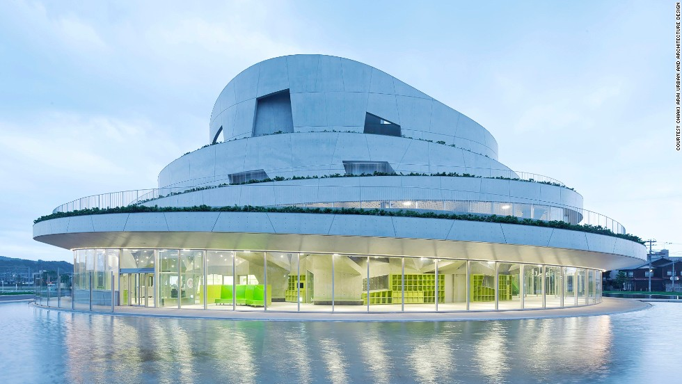"Built on an old baseball field in Japan, Niigata City's <a href=""http://www.akiha-bunka.jp/"" target=""_blank"">Akiha Ward Cultural Center</a> is designed to blend in with nearby hills. The terraced design allows visitors a panoramic view. <strong><br />Category: </strong>Culture<strong><br />Architects: </strong>Chiaki Arai Urban and Architecture Design (Japan)"