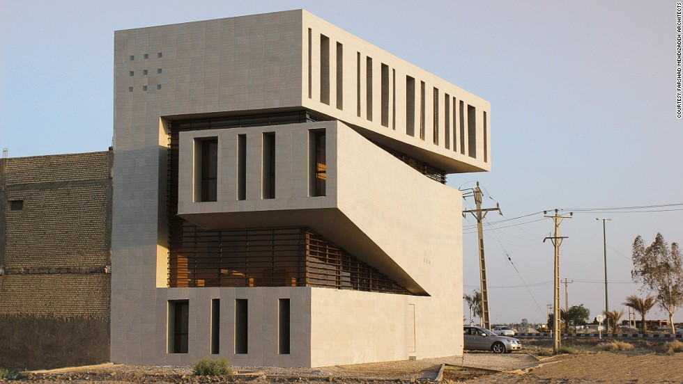 Abadan Residential Apartment is located in the Iran-Iraq border city of Abadan, Iran. The building's sustainable design improves day lighting and temperature control. <strong><br />Category: </strong>House <strong><br />Architects: </strong>Farshad Mehdizadeh Architects (Iran)