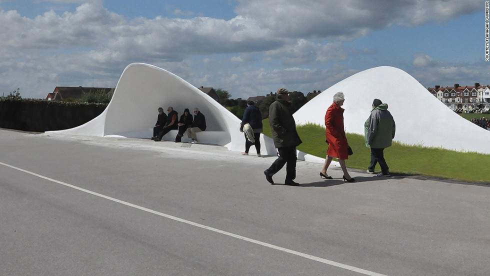 Near the beach of Littlehampton in the UK, the Acoustic Shells' serve as a performance space that projects the sound from up to 15 performers. <strong><br />Category: </strong>Small projects <strong><br />Architects: </strong>Flanagan Lawrence (United Kingdom)