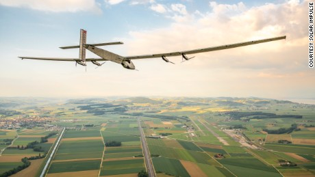 Solar Impulse 2's round-the-world journey