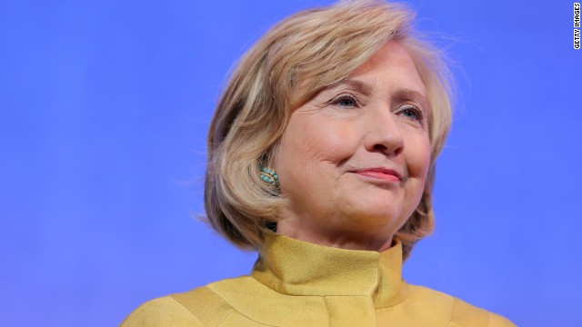 New grandma Hillary Clinton back on trail