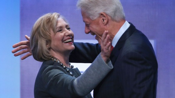 The Clintons' political brand was connected to free trade in the 1990s.