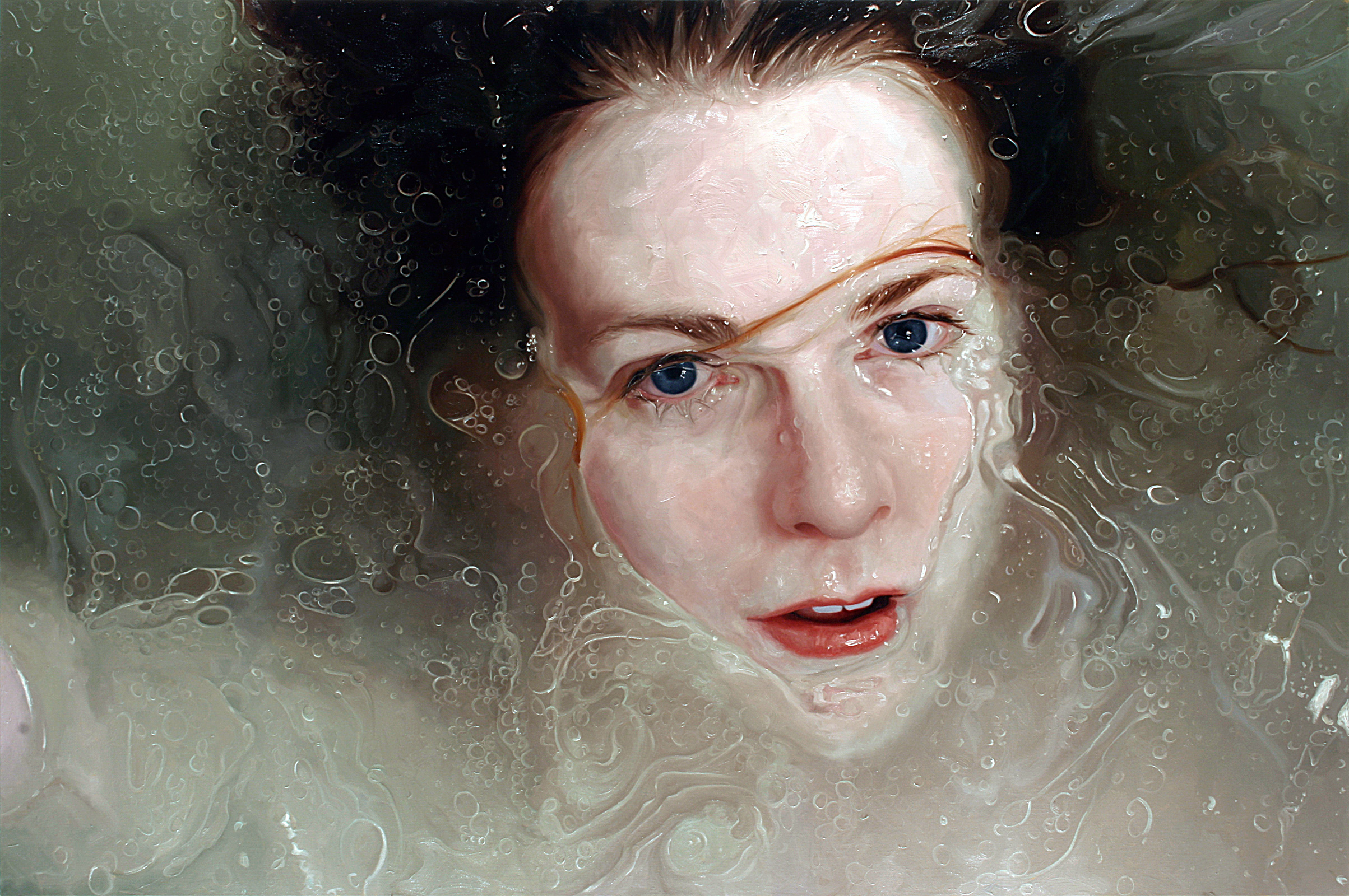 Astonishing hyperrealistic portraits painted by hand cnn style