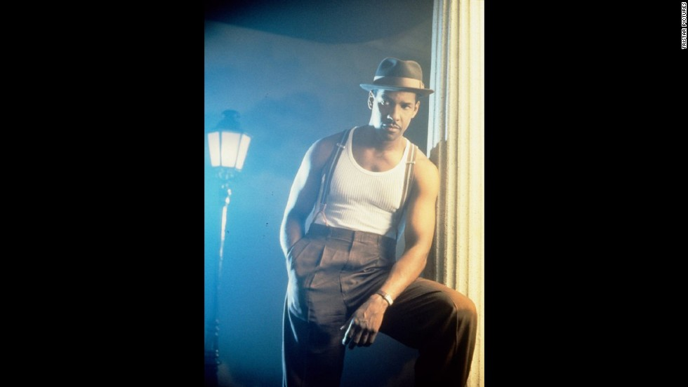 "<strong>""Devil in a Blue Dress"" (1995)</strong>: Book adaptations are tricky business, but Carl Franklin's take on Walter Mosley's novel is adored, and much of that has to do with how Washington inhabited the character of Ezekiel ""Easy"" Rawlins."