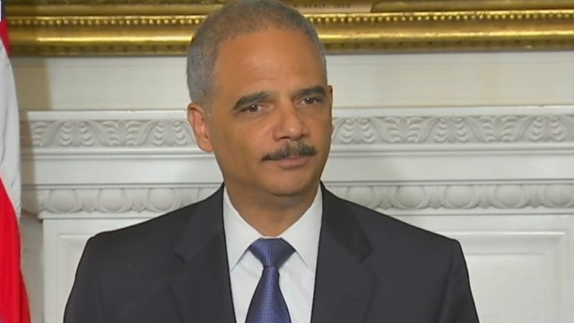 Holder: I come with mixed emotions