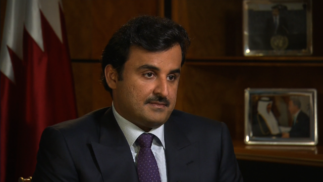 Full interview: Emir of Qatar