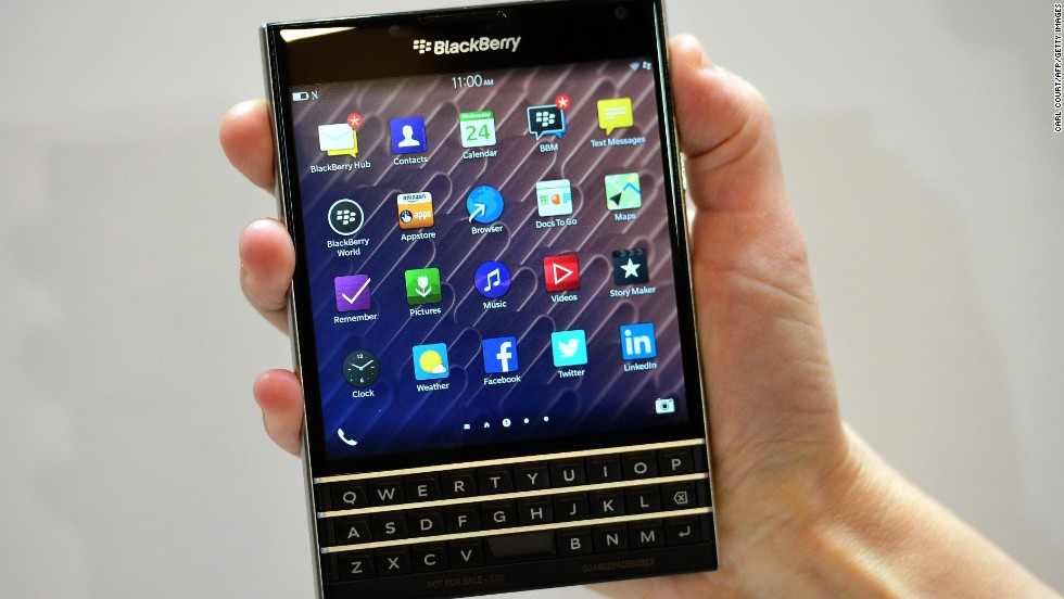 BlackBerry On Wednesday Unveiled Its Newest Smartphone With A Full Physical Keyboard And Large Screen