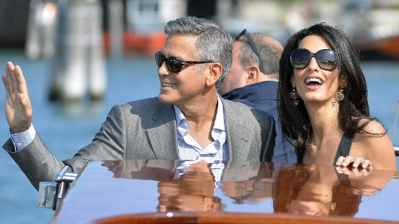 George Clooney took a while to get married again, and you would think folks would have been thrilled when he wed Amal Alamuddin in 2014. They have been the subject of gossip that things aren't going well, but in 2017 welcomed a set of twins.