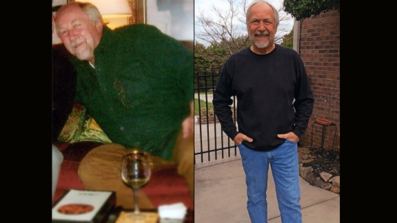 Gary Moxim from Knoxville, Tennessee, is 55 pounds lighter.