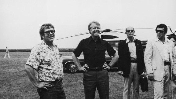 Billy Carter, left, was among Jimmy Carter's close relatives who died of pancreatic cancer.
