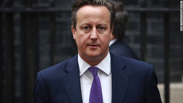 British Prime Minister David Cameron got a hoax call from someone claiming to be a spy chief.