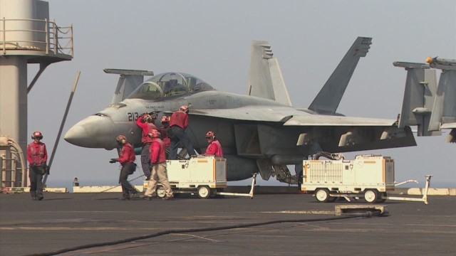 U.S. strikes ISIS from the Persian Gulf