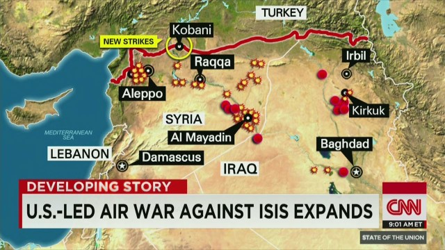 Is the battle against ISIS open-ended?