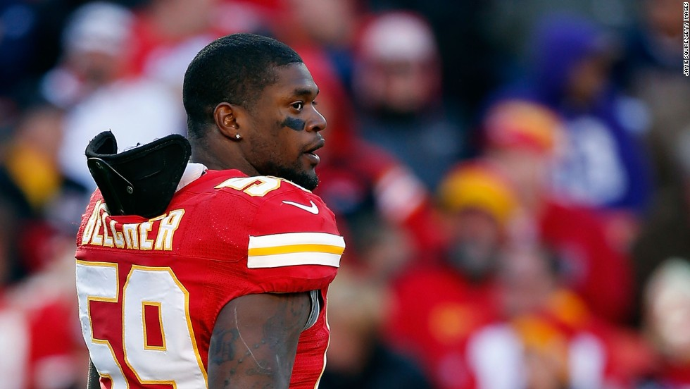 "Kansas City Chiefs linebacker Jovan Belcher shot and killed his girlfriend before killing himself in December 2012. <a href=""http://www.cnn.com/2014/09/29/health/jovan-belcher-cte/"" target=""_blank"">Pathology reports</a> show he probably had CTE."