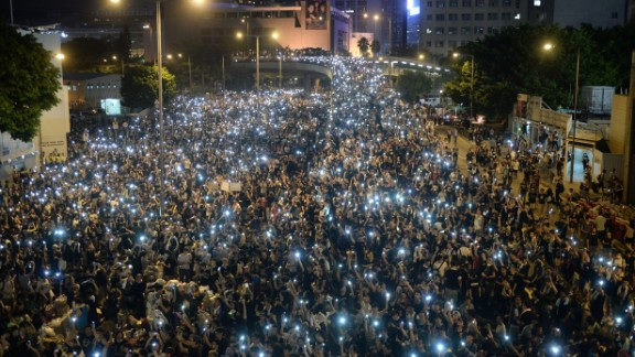The company said the app was never designed as a messaging tool for protesters rather as a means of providing communication for people in places where there was poor connectivity and a large population density.