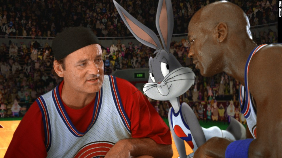 "<strong>""Space Jam"" (1996)</strong> : Bill Murray and superstar athlete Michael Jordan star in this adventure, which mixes in animation. <strong>(Amazon)</strong>"