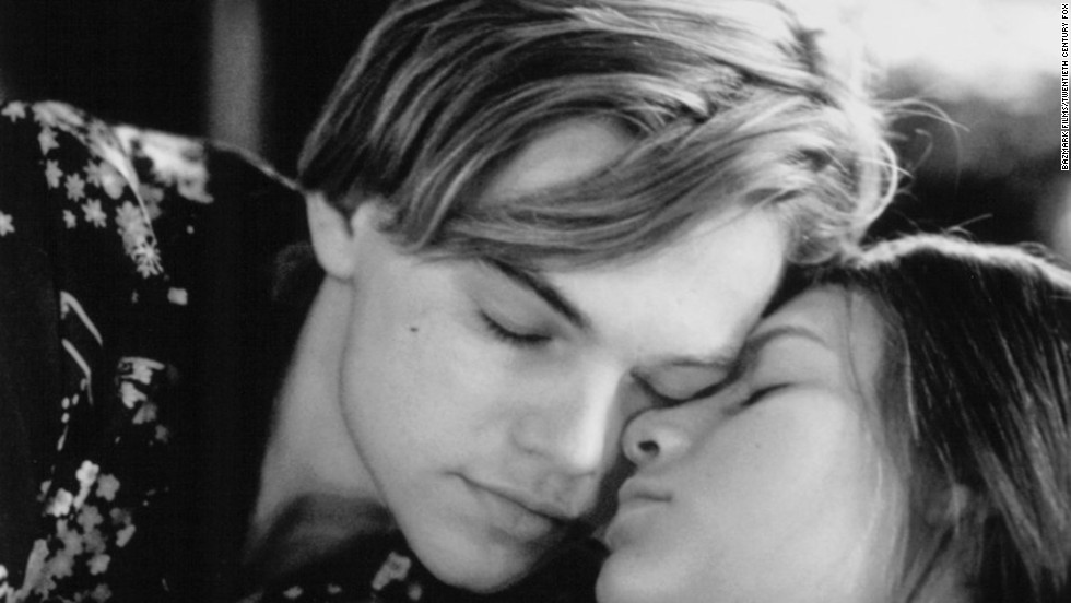 "<strong>""Romeo + Juliet"" (1996)</strong> : Leonardo DiCaprio and Claire Danes star in this modernized version of the Shakespeare classic."