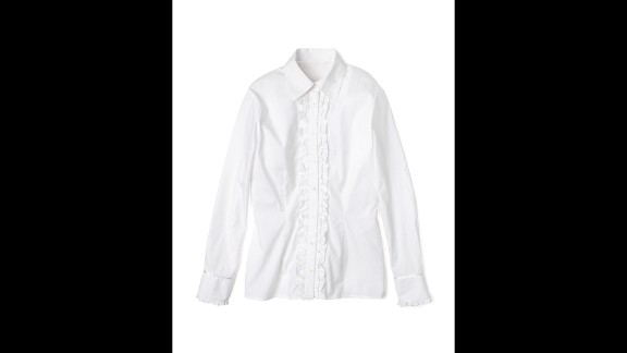 Unbutton shirts all the way before tossing them in the washer.