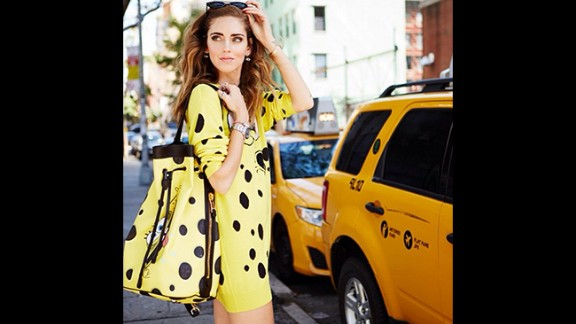 Fashion bloggers have become a new force in the industry, often earning hefty fees through brand collaborations and advertising. One of the most successful is 27-year-old Italian, Chiara Ferragni, whose blog The Blonde Salad gets five million views a month.