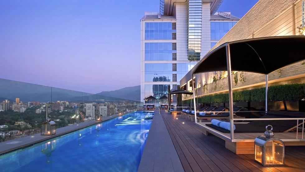 Los mejores 11 centros vacacionales urbanos for Piscina hotel w santiago