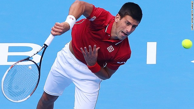 Novak Djokovic's incredible unbeaten run at the China Open continues.