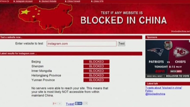 Chinese media censors Hong Kong protest