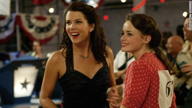 Lorelai and Rory at the dance marathon
