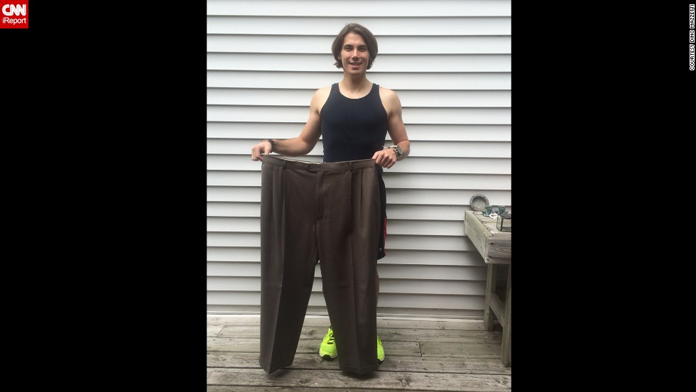 Weight loss success: Theater buff loses 121 pounds - CNN